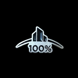 Pin em metal 100% CLUB remax