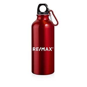 Squeeze alumínio com mosquetão 500ml vermelho - 94623