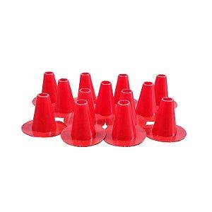 Cone de Plástico Para Tampa de Escape Invertido- 12 Unidades