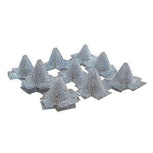 Cone de Tela Galvanizada Para Escape Invertido - 12 Unidades