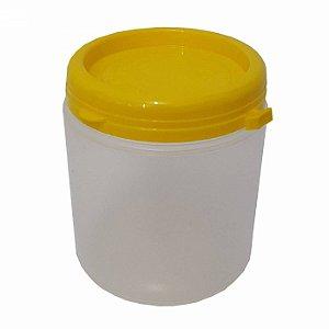 Pote Plástico Para Embalar Mel Com Tampa Lacre 1Kg - 50 UN