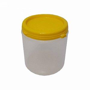 Pote Plástico Para Embalar Mel Com Tampa Lacre 500 Gramas - 50 UN