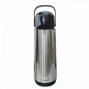 Garrafa Térmica Inox Lúmina Termolar 1.0L Bomba de Pressão