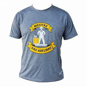 Camiseta TNA Nunes Mestre das Abelhas - Cinza