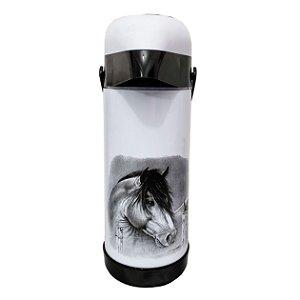 Garrafa Térmica Magic Pump Cavalo - 1L