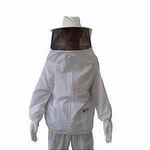 Jaleco Para Apicultura De Nylon Ventilado Com Mascara Fixa 01-30