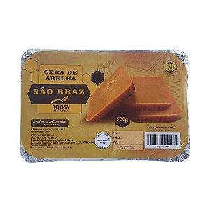 Cera De Abelha Pura 100% Natural - 500 Gramas