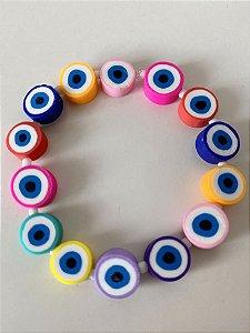 Pulseira Olho Grego Colorido