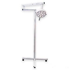 Foco Cirúrgico 12 LED Bicolor de Piso