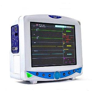 Monitor de Sinais Vitais MX 600 com Capnografia e Pressão Invasiva
