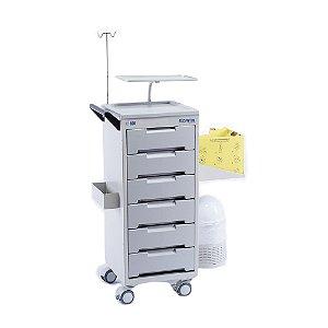 Carro Medicamentos e Instrumentos CP 500
