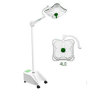 Foco Cirúrgico Auxiliar Led 4LE 140.000 Lux