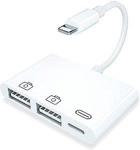3 em 1 Card Reader para Iphone por raios USB OTG Acessórios para celular
