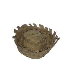 Chapeuzinho de palha mini decorativo