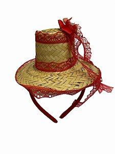 Arco Chapeuzinho Vermelho - Festa Junina