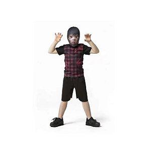 Fantasia Halloween Lobisomen Infantil