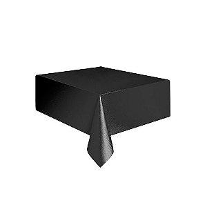 Toalha plástica Preto - c/ 1 unidade