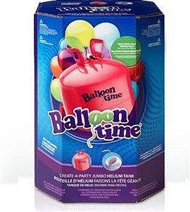 Cilindro De Gás Hélio Grande Descartável para 50 Balões