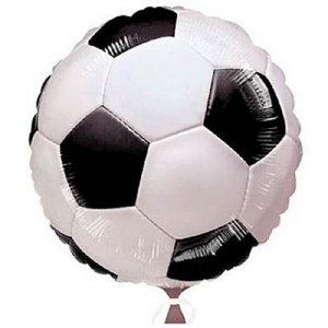 Balão Metalizado 18P - Futebol