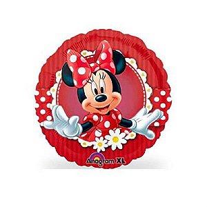 Balão Metalizado 9P - Minnie Vermelha