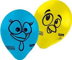 Balão 9'' - Galinha Pintadinha c/ 25 unidades