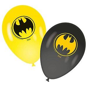 """Balão 9"""" - Batman c/ 25 unidades"""