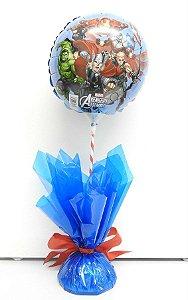 Centro de Mesa com Balão Metalizado 9P