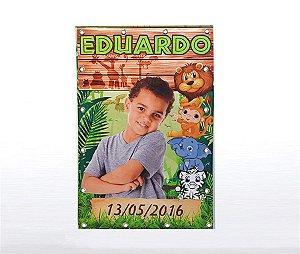 Banner Festa Infantil Personalizado com Ilhós - 1m x 1,5 m