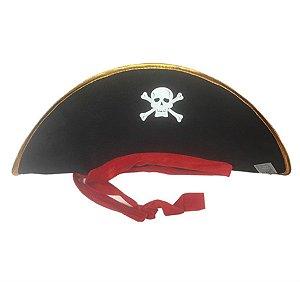 Chapéu Pirata Unisex Carnaval