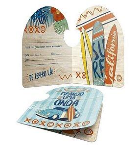 Convite - Surf c/ 8 unidades