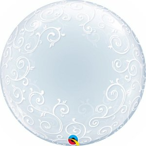 Balão Bubble Arabesco 24 Polegadas
