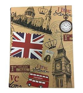 Trio de Livros Decorativos Londres