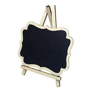 Mini Lousa Cavalete Porta Recados