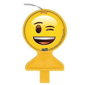 Vela - Emoji c/ 1 unidade