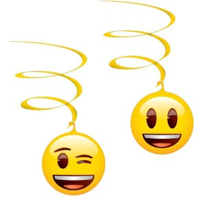 Móbile - Emoji c/ 4 unidades