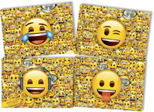Painel 4 Lâminas - Emoji c/ 1 unidade
