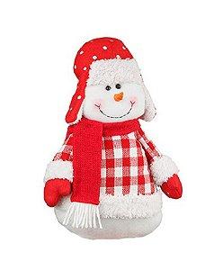 Boneco de Neve Candy 39cm - Natal