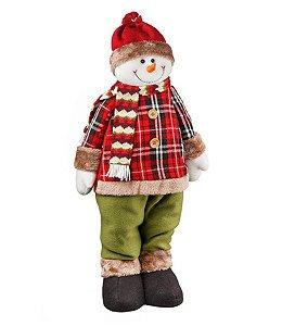 Boneco de Neve Country 63cm - Natal