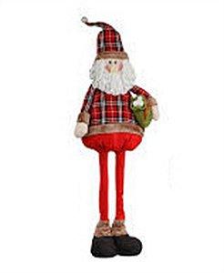 Boneco Papai Noel Extensiva Candy 1,19cm - Natal