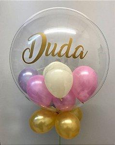 Balão Bubble Personalizado 24 Polegadas
