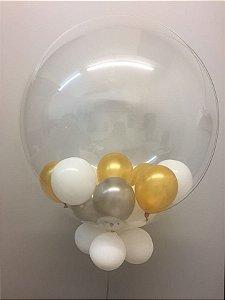 Balão Bubble Decorado 24 Polegadas