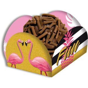 Porta Forminha - Flamingo c/ 40 unidades