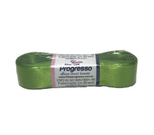 Fita de Cetim Verde Limão 22mm