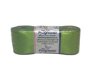 Fita de Cetim Verde Limão 15mm