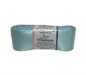 Fita de Cetim Azul Claro 38mm