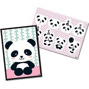 Kit Decorativo - Panda c/1 unidade