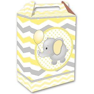 Caixa Surpresa - Elefantinho Amarelo c/8 unidades