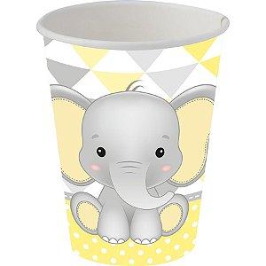 Copo de Papel - Elefantinho Amarelo c/8 unidades