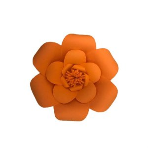 Flor EVA Laranja P