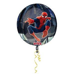 Balão Metalizado Homem Aranha 18P